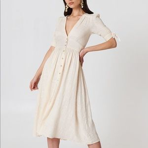 Free People Love of My Life Dress in Ivory